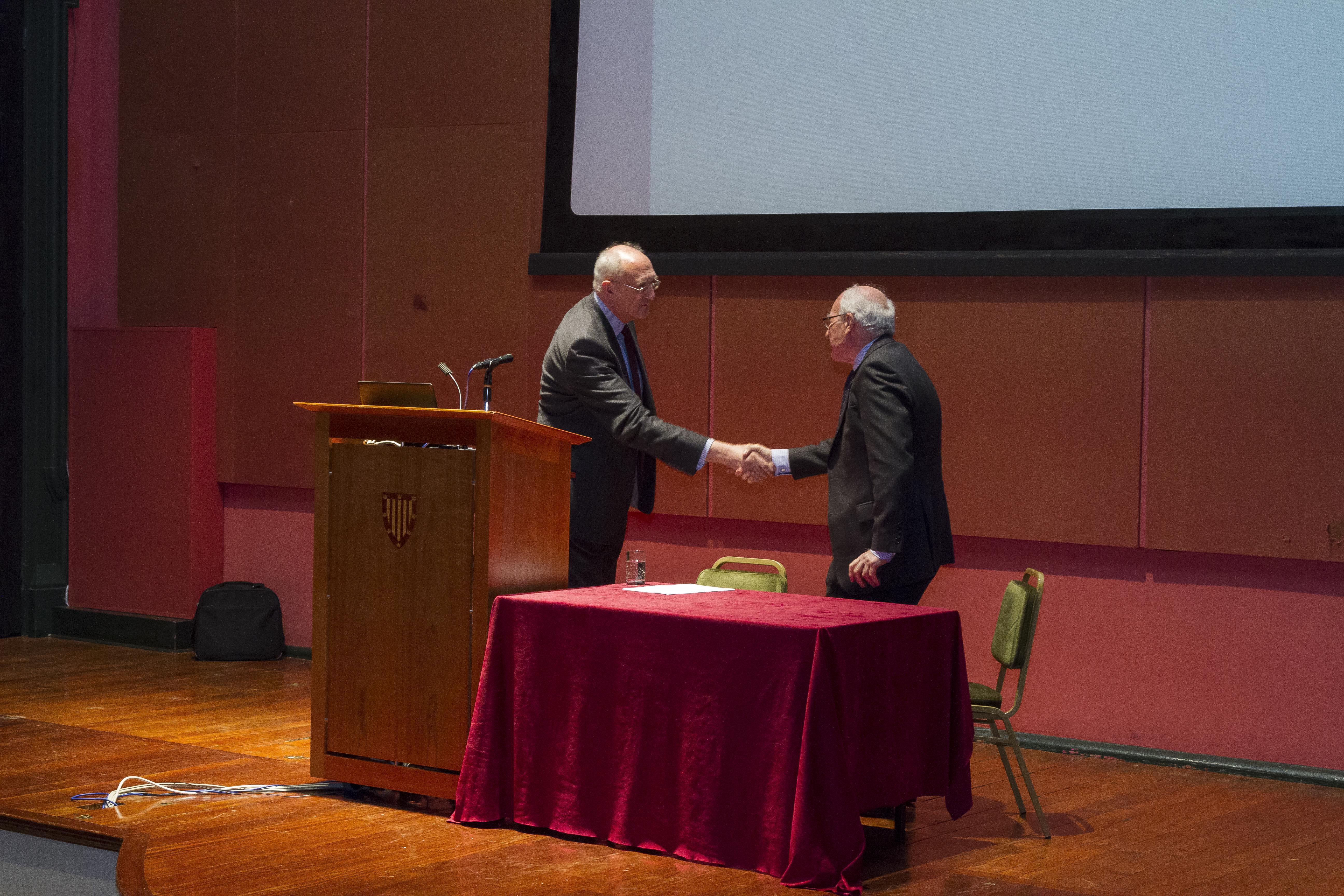 Professor Sir Leszek Borysiewicz & Professor Sir Michael Rutter